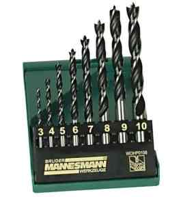 Our best Pick - Mannesmann Professional Wood Drill Set in Plastic Box 8 Pieces