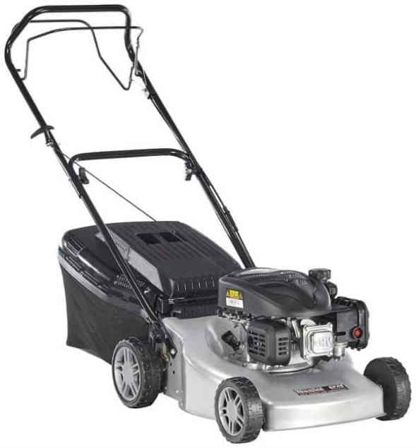 The Mountfield SP45 44cm Petrol Rotary Lawnmower is another good petrol mower from a well known manufacture we have come to trust. We would recommend this mower for medium or larger sized gardens.