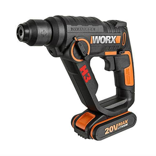 WORX WX390 20V 3-in-1 H3 Max Lithium-Ion Rotary Hammer Drill Review