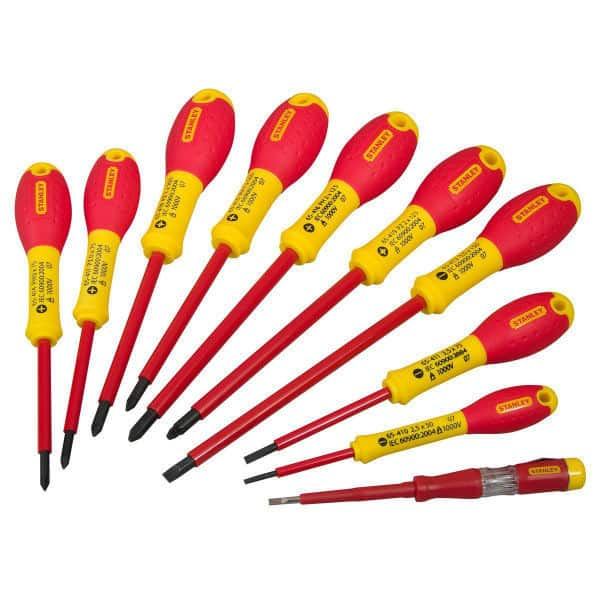 Stanley 562573 FatMax Screwdriver Set Insulated Review