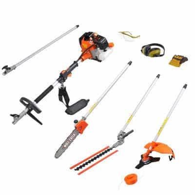 wolf creek multi tool long reach hedge trimmer