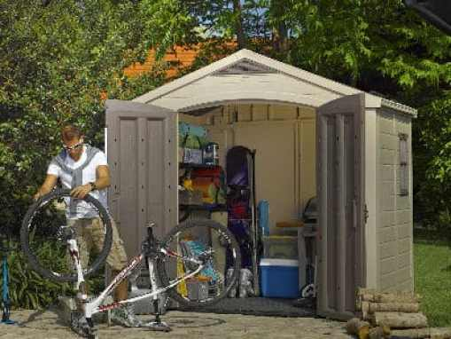 Keter factor 8 x 4 plastic shed review