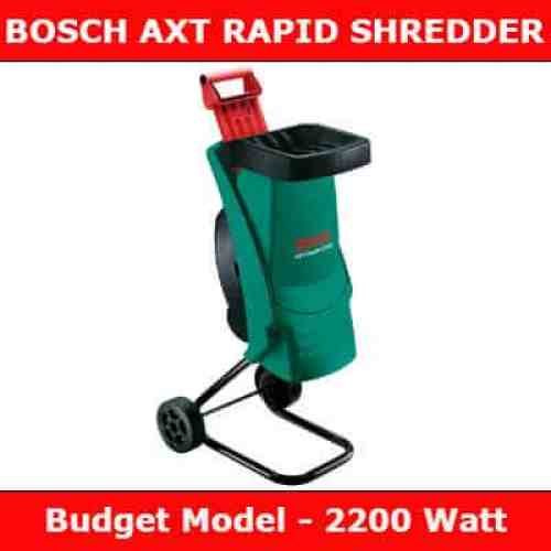 Bosch AXT Rapid Shredder REVIEW
