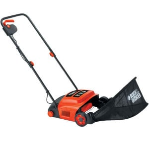 lawn raker reviews - Black + Decker GD300