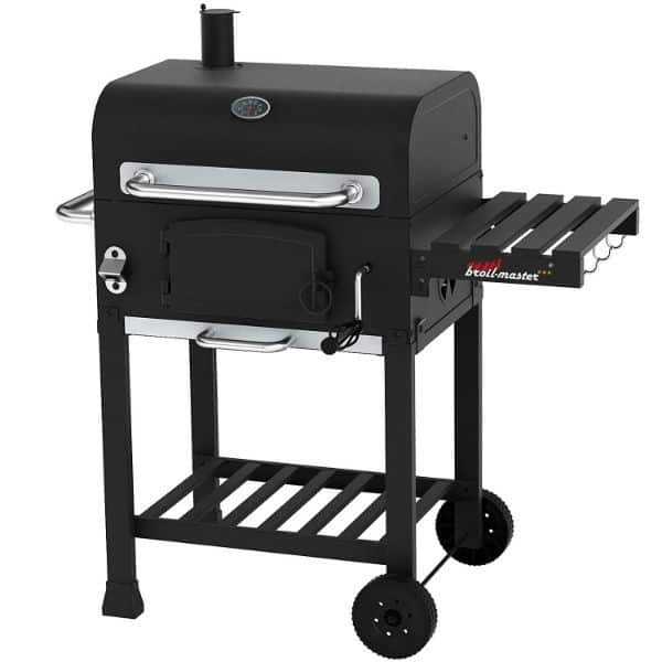 Broil-Master Charcoal Grill Cart with Large Grilling Surface Review