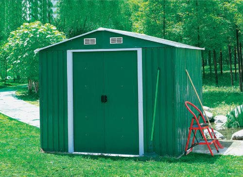 Charles Bentley 8Ft X 10Ft Metal Shed Review