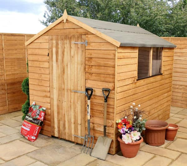 Waltons 8 x 6 Overlap Apex Wooden Garden Shed Review