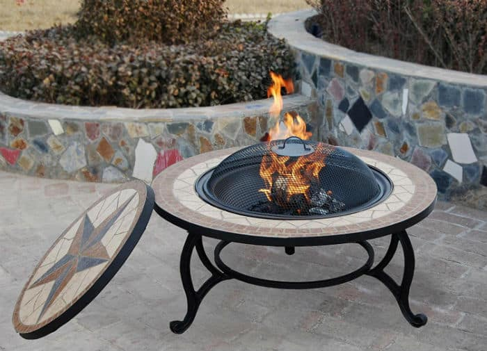 SALTILLO 3 IN 1 GARDEN FIREPIT BBQ GRILL KIT Review