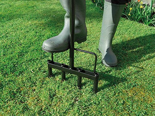 Garland Heavy Duty Hollow Tine Lawn Aerator Review