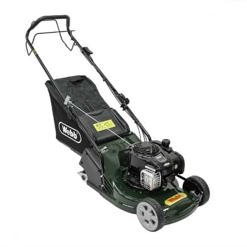 Webb 17(42cm) Petrol Lawn mower with Rear Roller Review