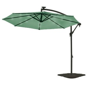 Clifford James 2.7M Solar Powered LED Patio Parasol Review