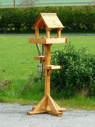 Riverside Woodcraft Triple Platform Bird Table Review