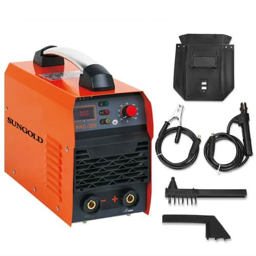 Sungold Power 200A ARC MMA IGBT Digital Display LCD Welding Machine Review