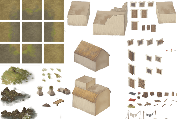 Initial tiles