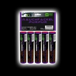 5er Pack Rauchfackeln Lila/Purpur von Blackboxx Feuerwerk /Firework- Feuerwerk online kaufen im Pyrographics Feuerwerkshop
