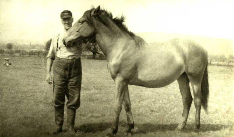 Mein Großvater Karl - ein Bild, das ich sehr mag.