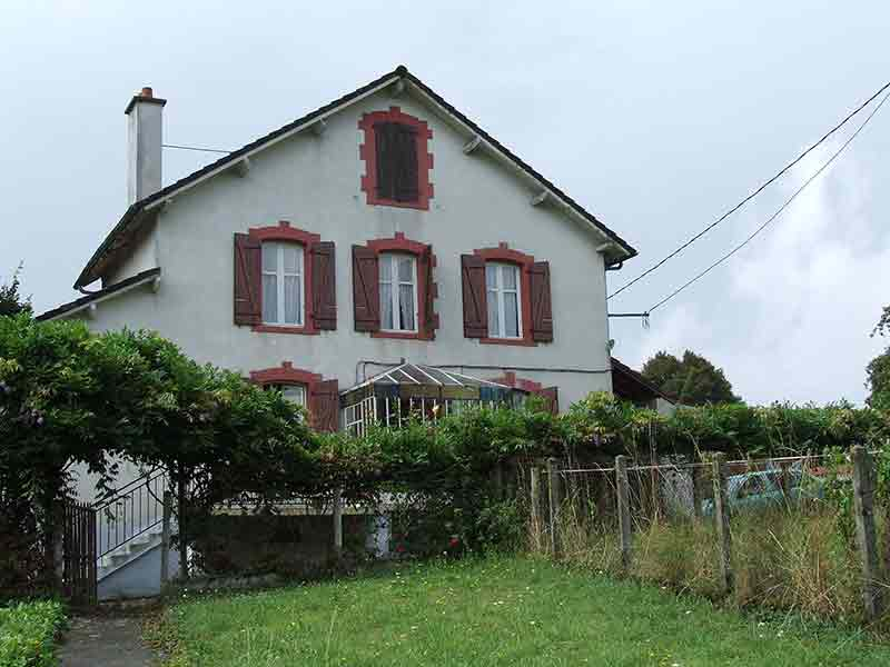 Das Bauernhaus der französischen Familie. Vielleicht mein Altersruhesitz.