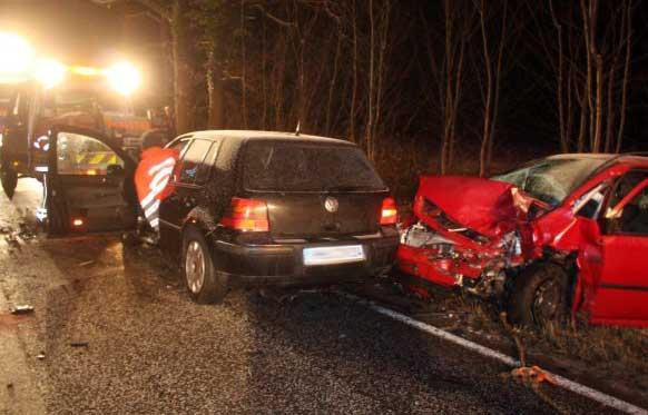 Glatteis, Schneegrieseln und Dunkelheit: Über Unfälle zu berichten ist im Winter kein leichter Job.