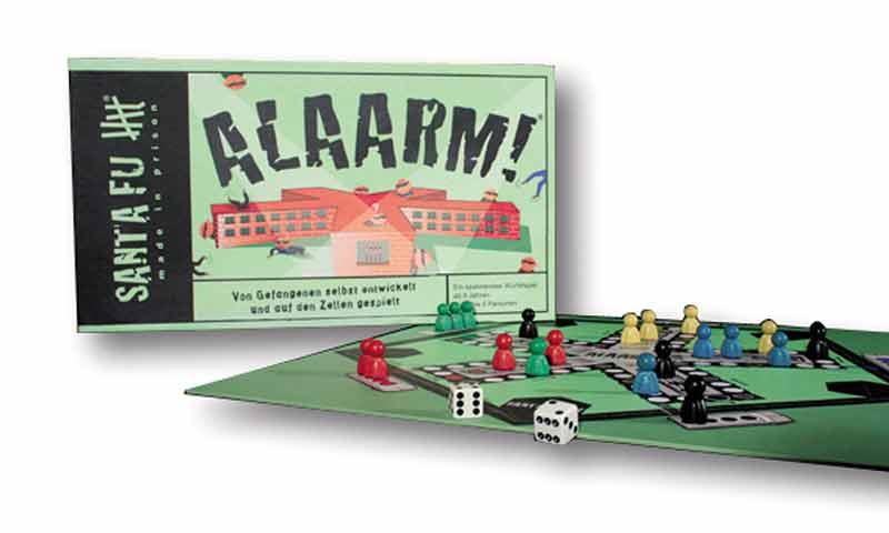 """""""Alaarm"""" heißt das Ausbrecherspiel, das Spielspaß für 24,90 Euro verspricht."""