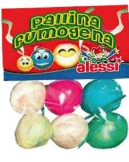 Pallina fumogena confezione 6pz