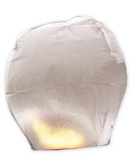 Lanterna dei cieli 100 cm bianca 50pz