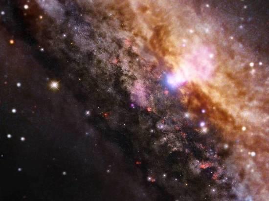 Cerca de la vía láctea, los científicos notaron los objetos de otra galaxia