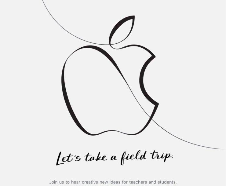 Cuando es el próximo evento de Apple: en la Primavera de 2018
