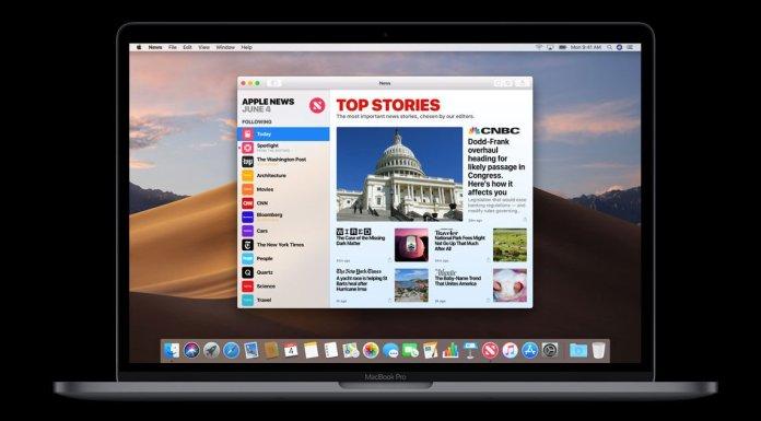macOS Mojave fecha de lanzamiento y nuevas características: aplicación de Noticias