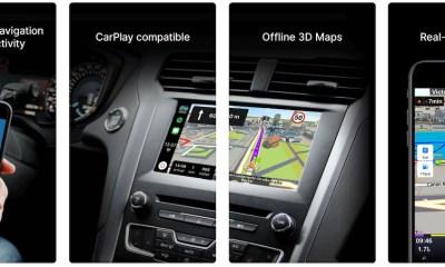 sygic car navigation carplay