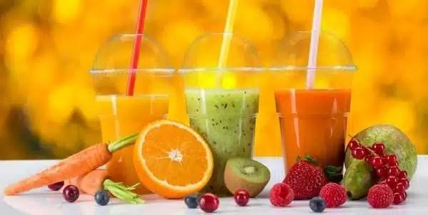 centrifugado de frutas