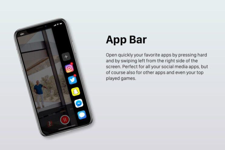 iOS 13 fecha de lanzamiento y nuevas características rumores: Barra de la Aplicación del concepto de ilustración de iOS Noticias Y Más