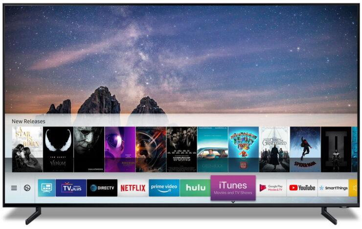 iTunes de Apple sobre Samsung