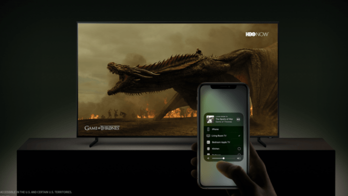 AirPlay 2 en Samsung
