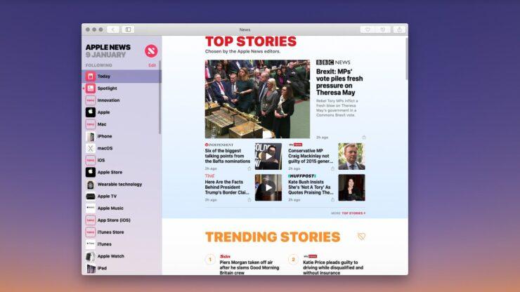 Apple Noticias en el Mac