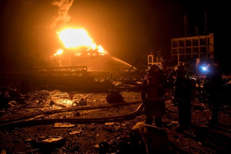 explosión en fábrica