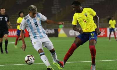 SUB 17 ARGENTINA VS ECUADOR