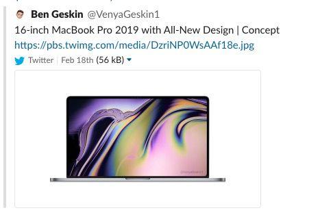16in MacBook Pro