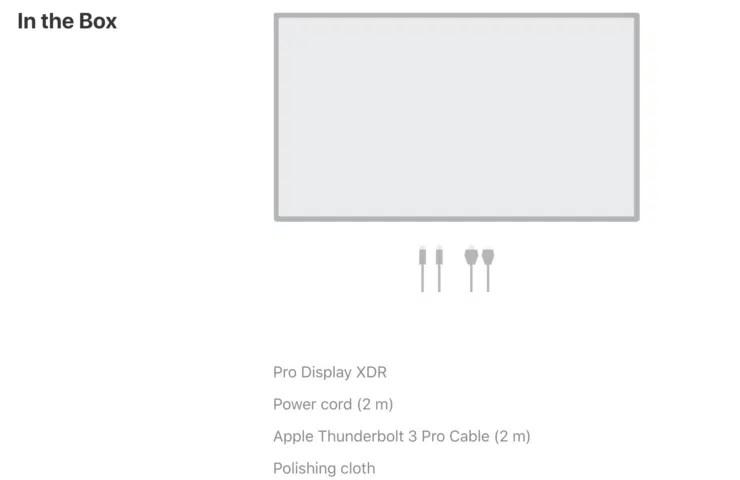 ¿el Apple Pro Pantalla XDR venir con un stand?