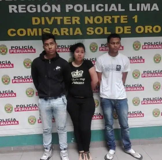 Venezolanos con armas de Guerra en Perú