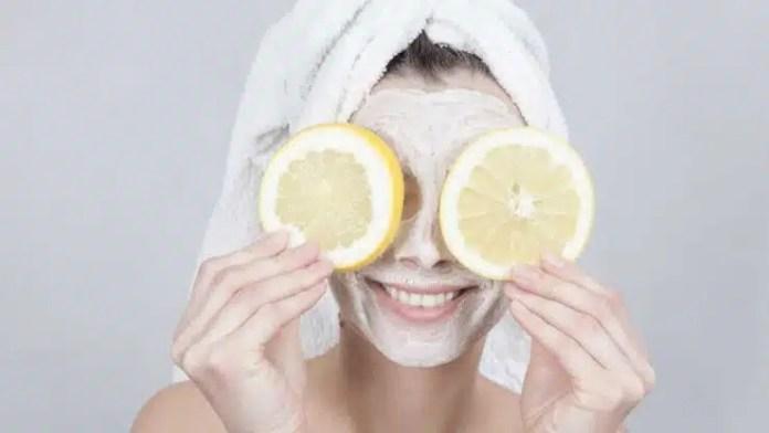 máscara de limón