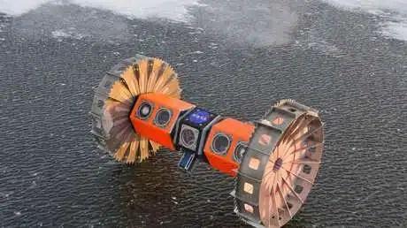 robot submarino