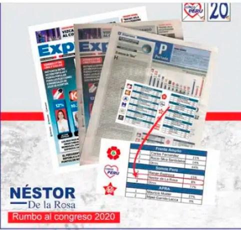 NESTOR LA RPSA 20 SOMOS PERU