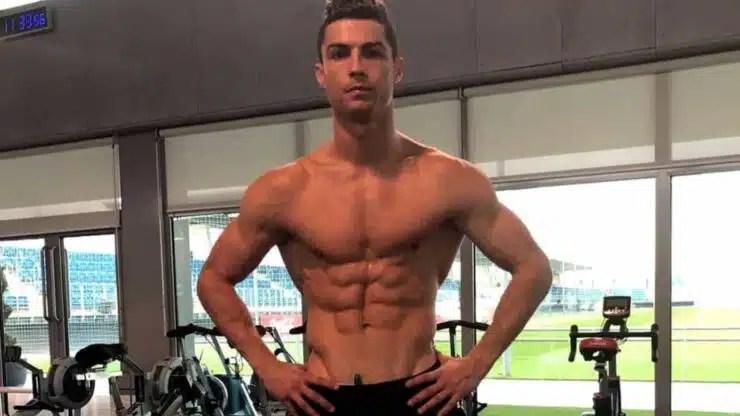 físico de Cristiano Ronaldo