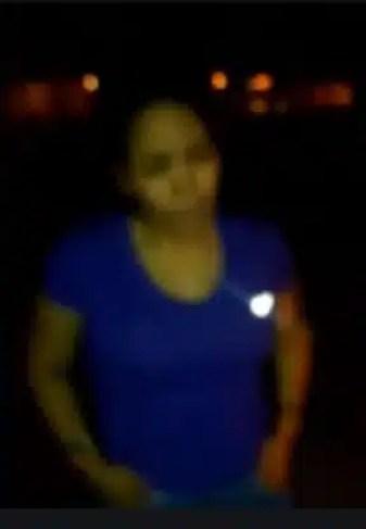 mujer venezolana difundida su ejecución