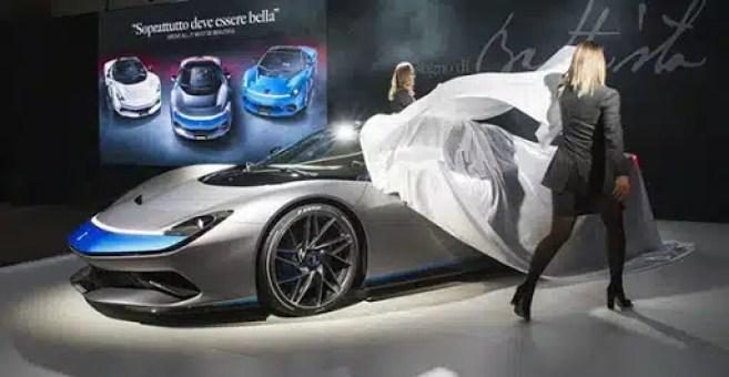 auto eléctrico caro