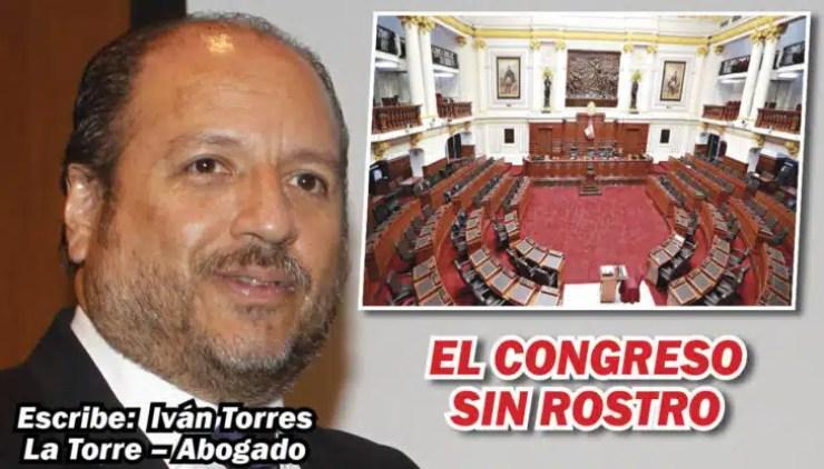 CONGRESO SIN ROSTRO