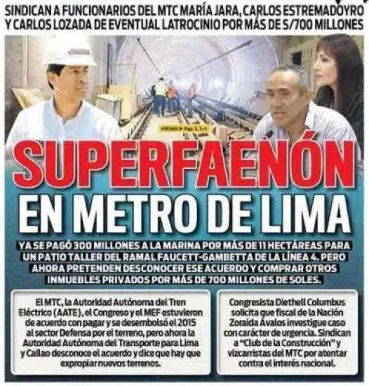 Línea del Metro