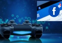 playStation versus facebook