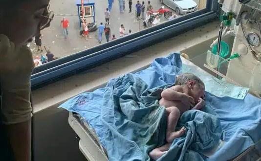 Las imágenes grabadas por su celular muestran a la mujer siendo llevada en una camilla a la sala de parto, cuando ocurre la explosión. Emmanuelleestaba en la sala de parto cuando todo explotó. Era el momento de la tragedia en el puerto deBeirut. Las enfermeras y los médicos estaban preparando todo para el parto, cuando todos escucharon un ruido y todo se destruyó a su alrededor.Edmoundcorrió a rescatar a su esposa.