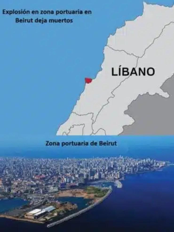 Impactante Explosión en Beirut deja varios muertos [VIDEO]
